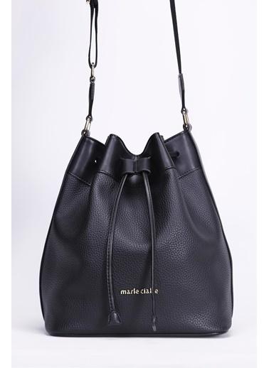 Marie Claire Omuz Çantası Siyah